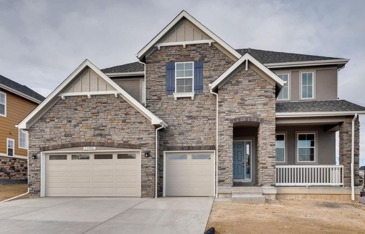 New home at 23955 E. Rocky Top Ave by Dream Finders | Inspiration Colorado
