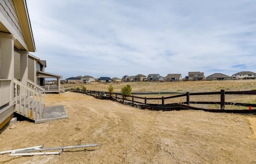 New home backing to green belt at 23159 E. Narrowleaf Dr. by Lennar