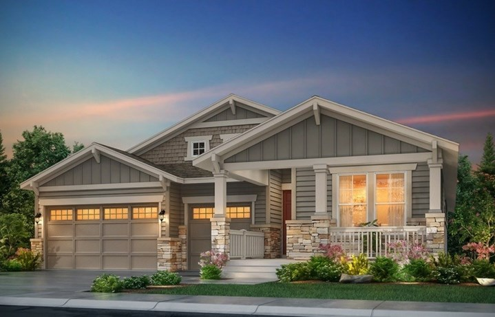 New home at 8714 S. Winnipeg Ct by Lennar | Inspiration Colorado