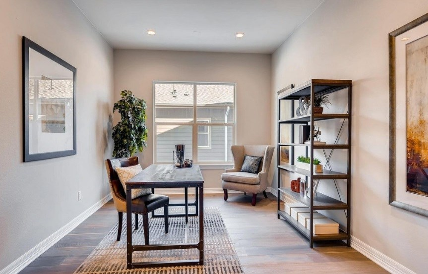 New home study at 8620 S. Sicily Ct by Toll Brothers | Inspiration CO