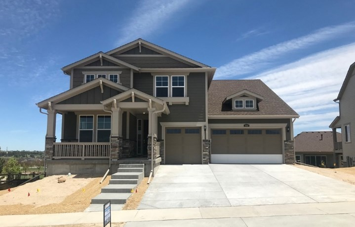 New home at 8768 S. Zante St by Lennar | Inspiration Colorado