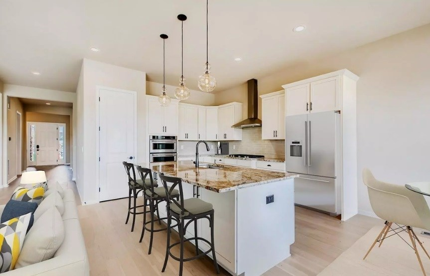 New home at 22714 E. Henderson Dr by Toll Brothers (55+) | Inspiration Colorado