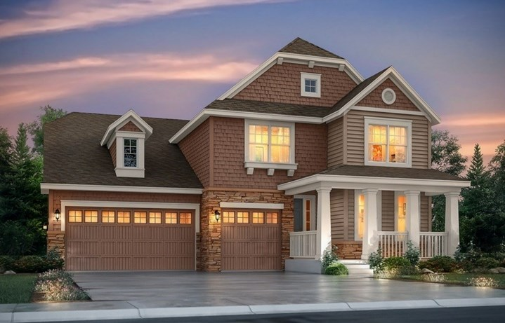 New home at 8732 S. Wenatchee Ct by Lennar | Inspiration Colorado