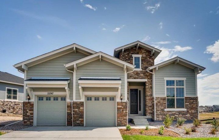 New home at 22727 E. Ignacio Pl by Toll Brothers 55+ in Inspiration