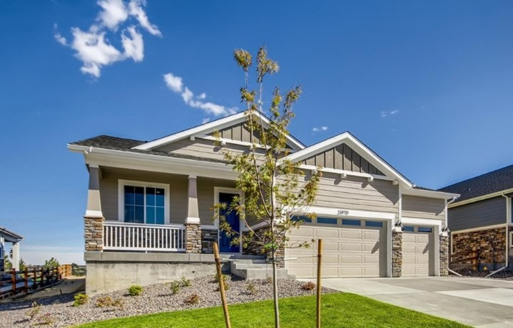 New home at 23970 E . Tansy Dr by Dream Finders | Inspiration CO