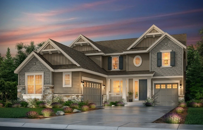 New home at 8823 S. Winnipeg Ct by Lennar | Inspiration Colorado