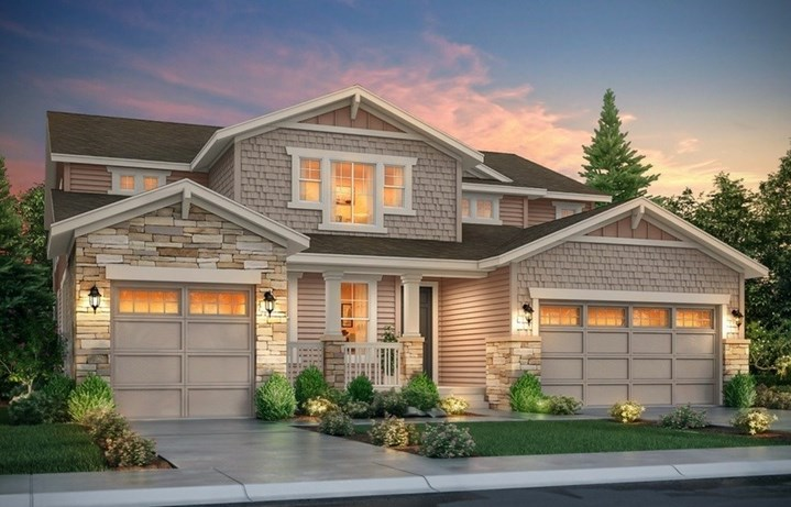 New home at 8762 S. Wenatchee Ct by Lennar | Inspiration Colorado
