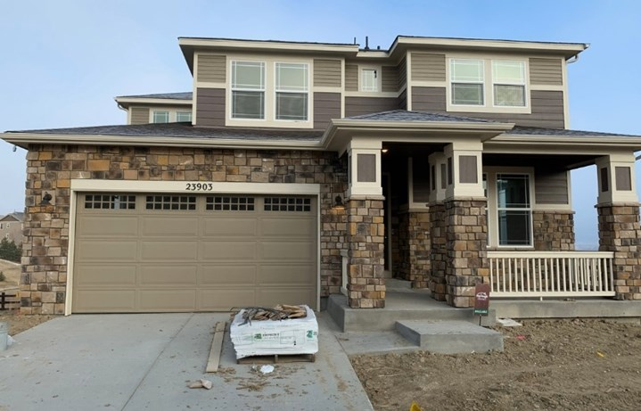New home at 23903 E. Minnow Cir by Meritage in Inspiration