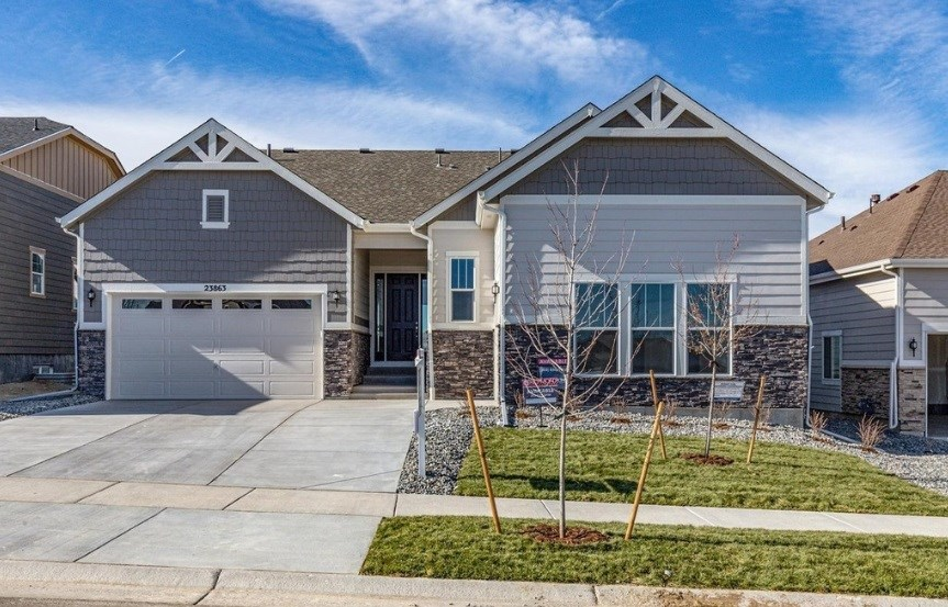 New home at 23863 E. Swallow Cir by Richmond American | Inspiration Colorado