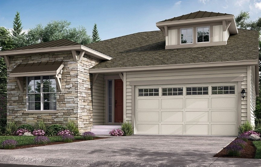 Grove, a Beautiful Colorado New Home Plan by Lennar (55+)