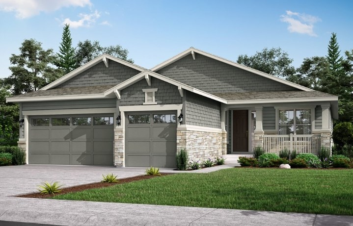 Newman, a Beautiful Colorado New Home Plan by Lennar (55+)