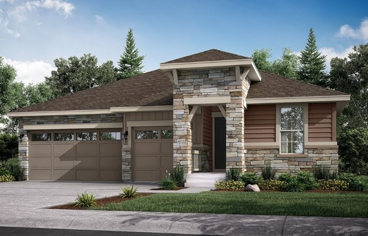 Hepburn, a Beautiful Colorado New Home Plan by Lennar (55+)