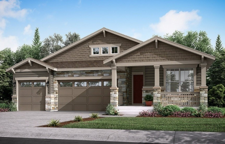 Hamilton, a Beautiful Colorado New Home Plan by Lennar (55+)