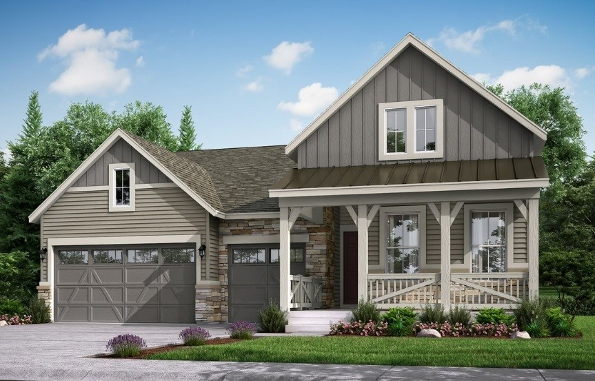 Redford, a Beautiful Colorado New Home Plan by Lennar (55+)