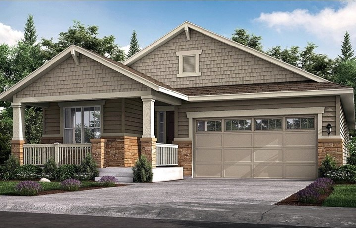 New home at 8825 S. Tibet Ct by Lennar 55+