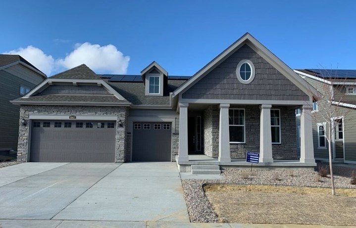 New home at 8803 S. Winnipeg Ct by Lennar | Inspiration Colorado