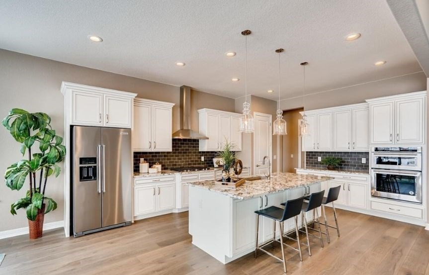 New home at 22469 E. Eads Cir by Toll Brothers | Inspiration Colorado