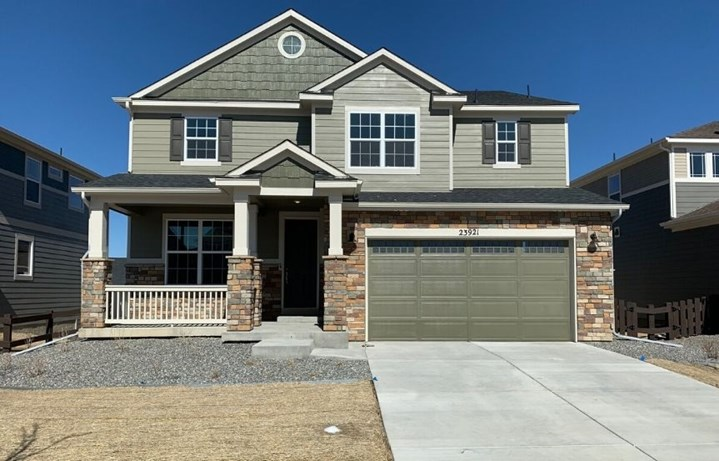 New home at 23921 E. Minnow Cir by Meritage in Inspiration