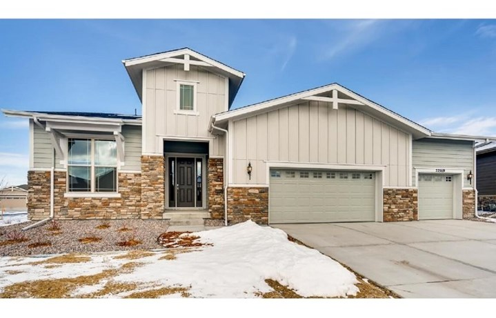New home at 22569 E. Eads Cir by Toll Brothers (55+) | Inspiration Colorado