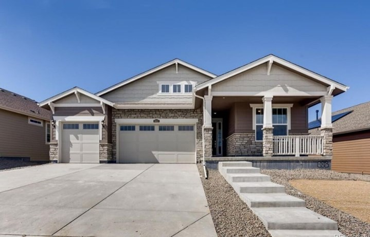 New home at 8813 S. Tibet Ct by Lennar 55+