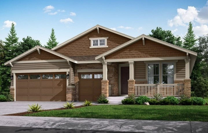 New home at 8742 S. Sicily Ct by Lennar 55+