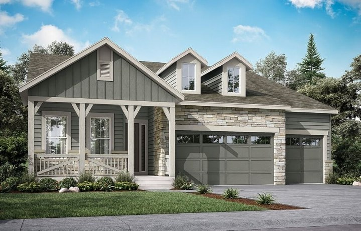 Davis, a Beautiful Colorado New Home Plan by Lennar (55+)