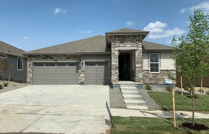 New home at 8785 S. Tibet Ct by Lennar 55+