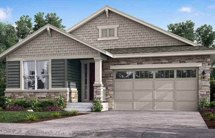 New home at 8865 S. Tibet Ct by Lennar 55+