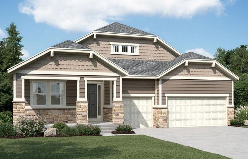 New home at 23911 E. Tansy Dr by Richmond American